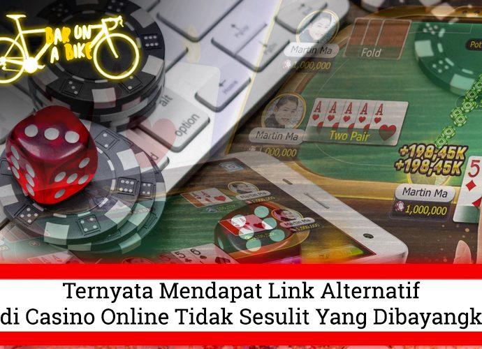 Judi Casino Online Tidak Sesulit Yang Dibayangkan - Bar on a Bike
